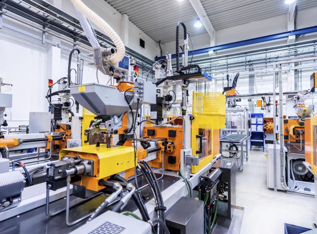 modernisation d'usine